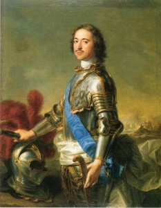 Peter the Great by Jean-Marc Nattier